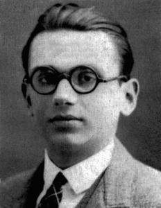 Kurt Gödel, logicien et mathématicien autrichien du 20ème siècle