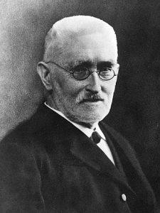 Richard Dedekind, mathématicien allemand du 19ème siècle