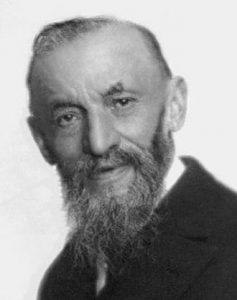 Giuseppe Peano, mathématicien et linguiste italien du 19ème et du 20ème siècles