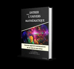 couverture e-book entrer dans l'univers mathematique
